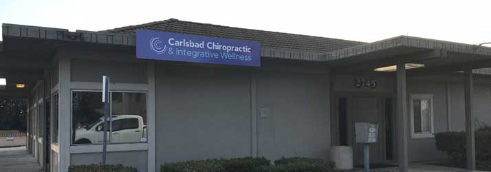 Office Building at Carlsbad Chiropractic and Integrative Wellness